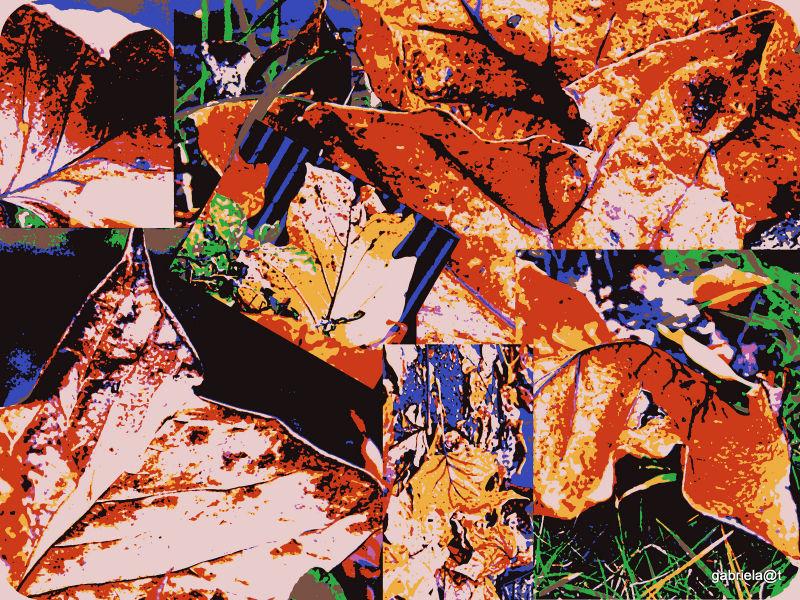 Tapestry effect - digital art