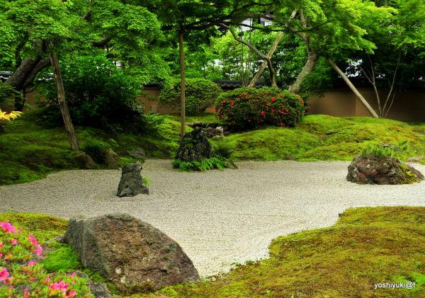 Traditional garden at Entsu-in,Matsushima