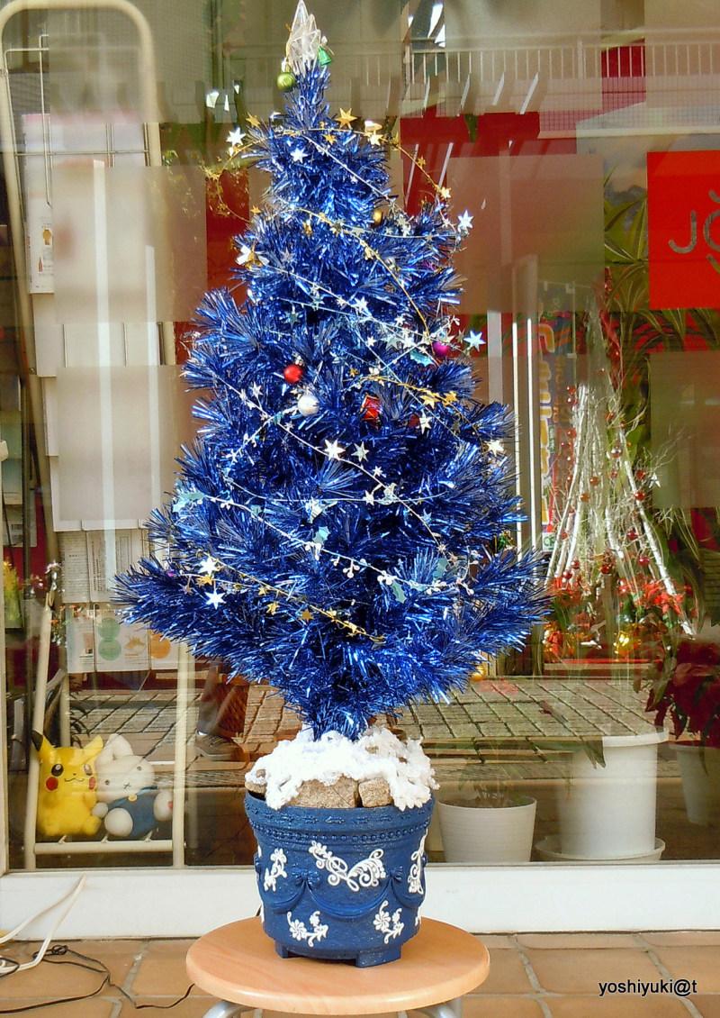 Suburban winter decoration for Christmas