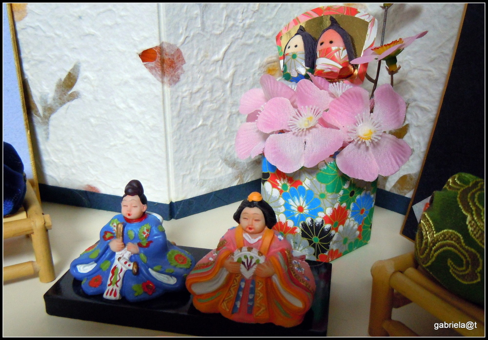 Doll's Festival in my home