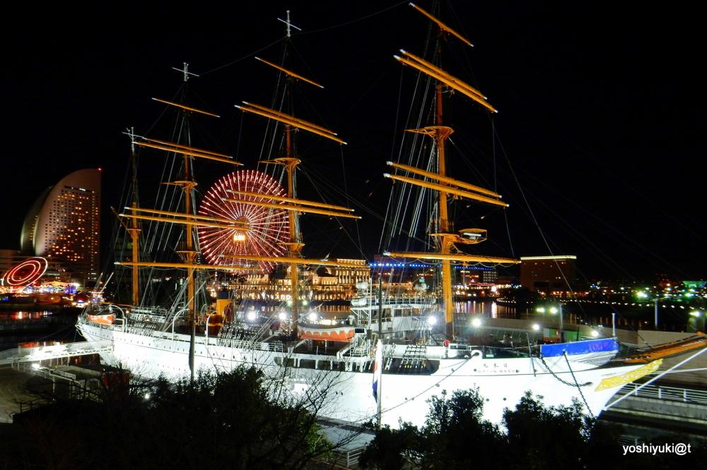 Yokohama at night, 3rd January 2015
