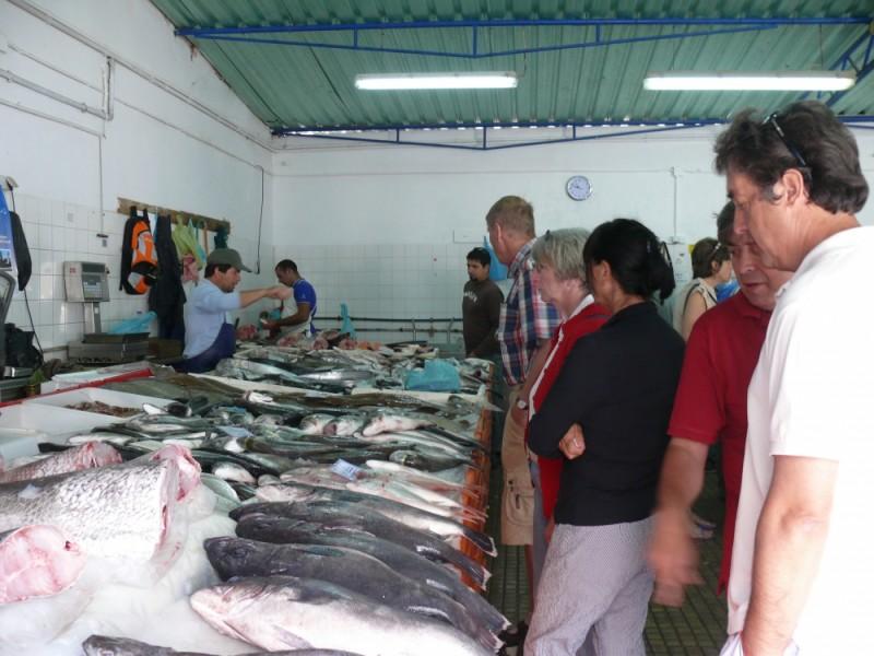 Quarteira-Fischmarkt