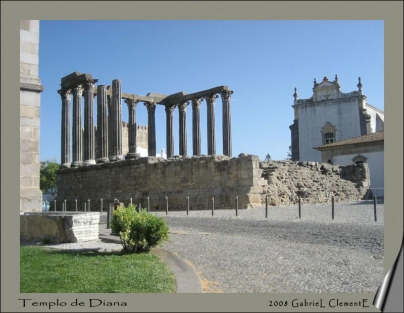 Evora-Templo de Diana