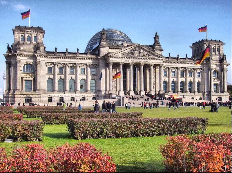 Reichstag,  Bundestag