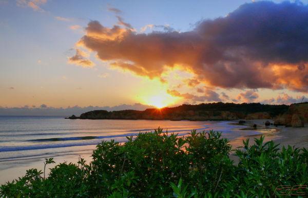 Sunset in Algarve