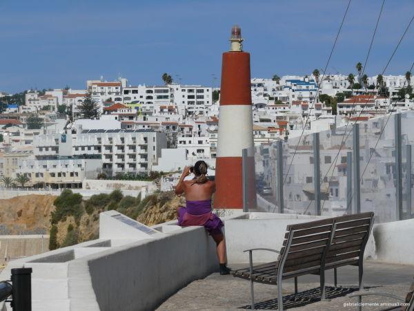 lighthouse Albufeira