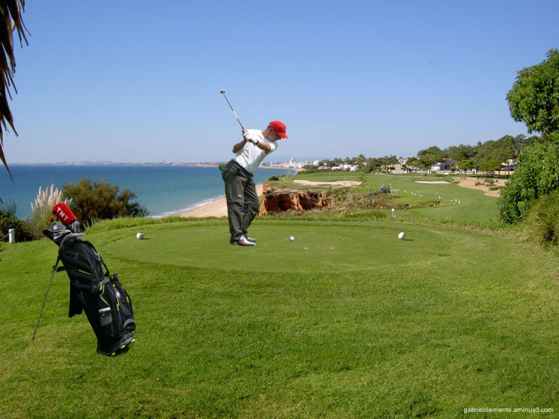 Vale do Lobo - Royal Golfplatz - Algarve Portugal