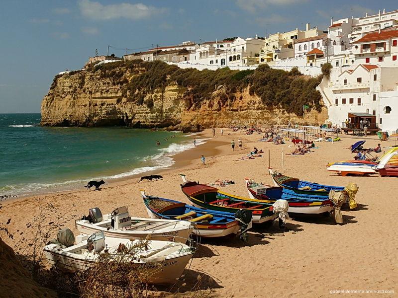 Praia do Carvoeiro - Algarve