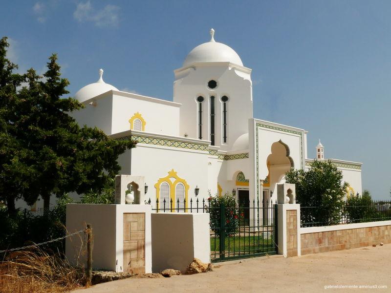 Architecture arabe in Algarve-Portugal