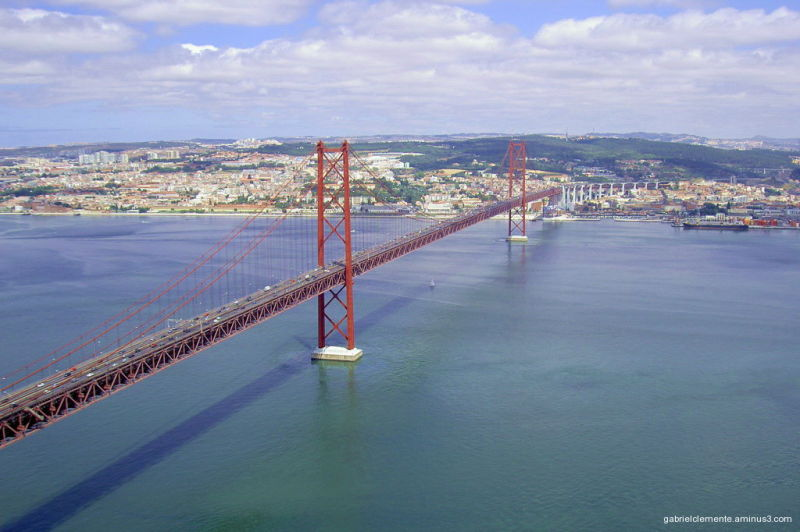 Tejo-Bridge Lisbon