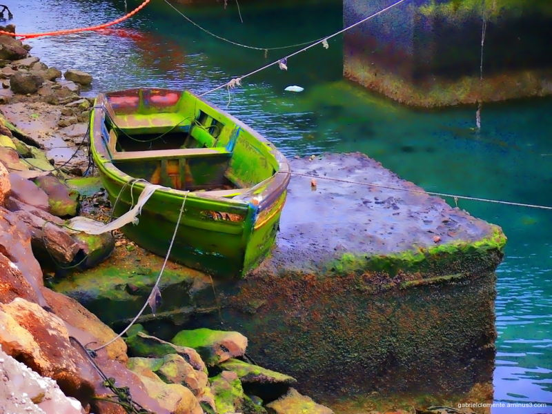 The Green Boat from Algarve
