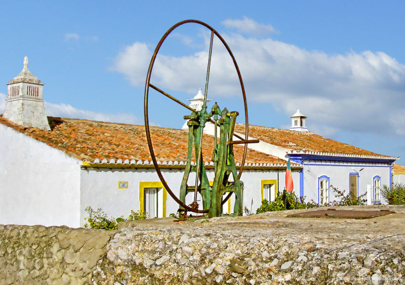 Typical houses in the Algarve