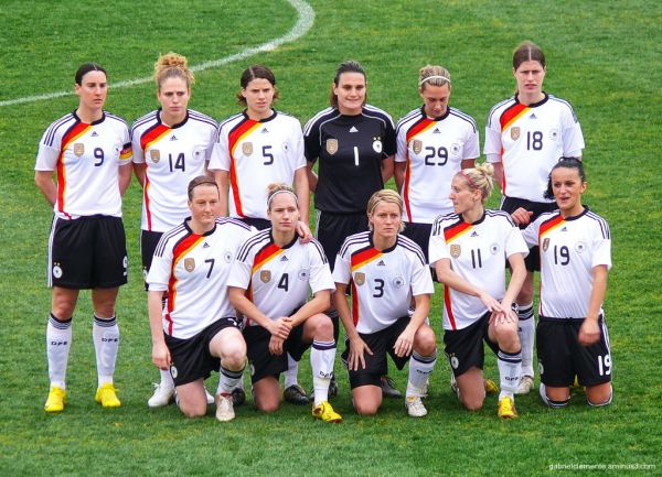 Europe and world champions Germany
