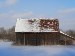 Das Haus im Schnee