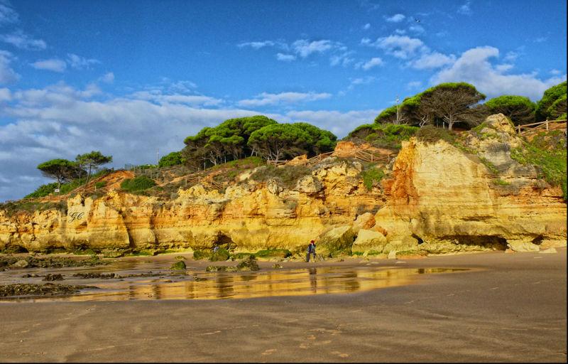 Olhos de Agua-Beach-Algarve