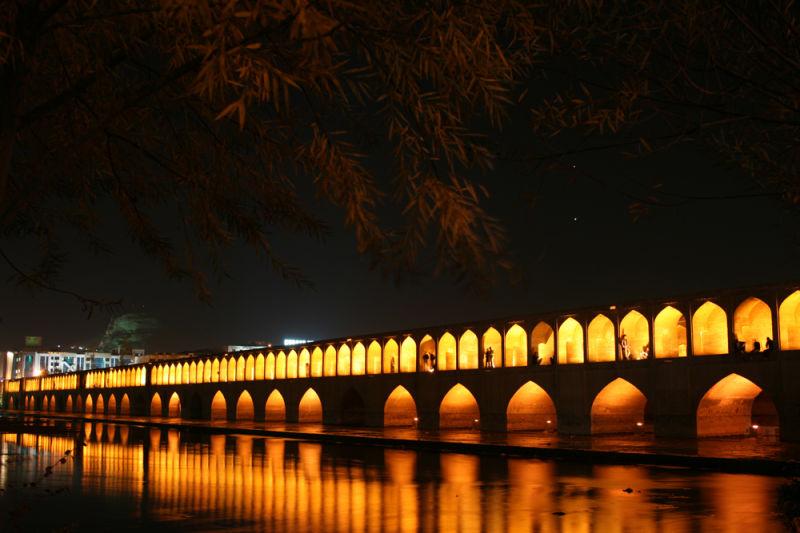 si-o-se pol , 33 bridges , isfahan , esfahan