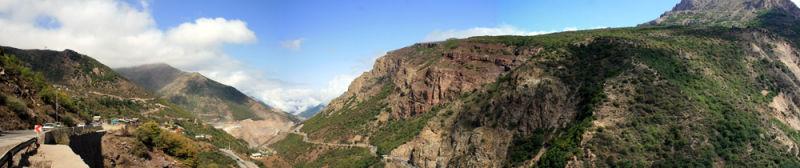 Chalus,north,iran,panorama