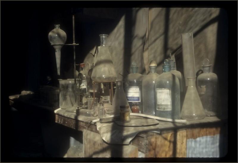 beakers bottles and phials