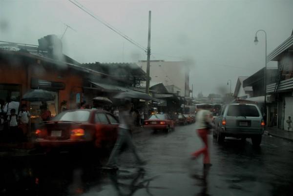 san jose costa rica in the rain