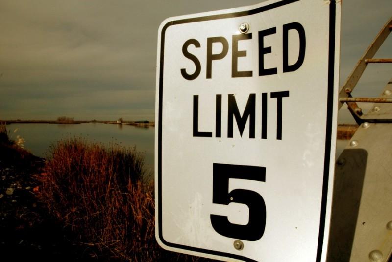speed limit 5 bacon island sacramento delta
