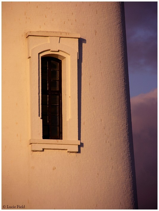 lighthouse window pigeon point california