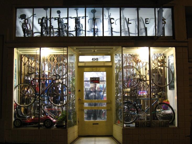 bicycle shop san francisco california