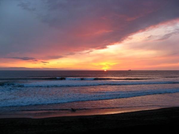 sunset ocean beach san francisco I