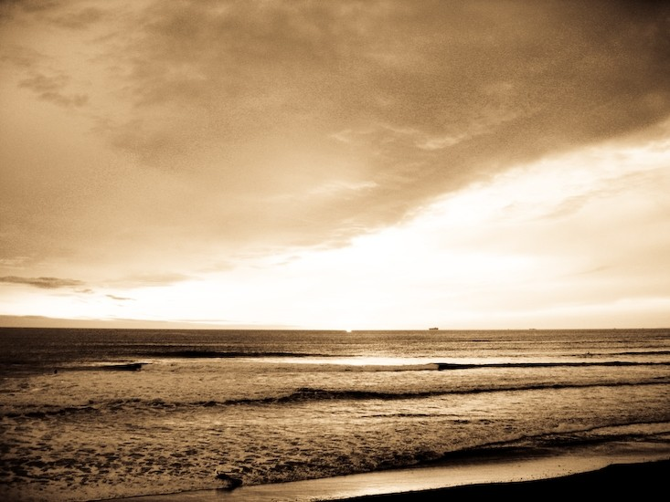 sunset ocean beach san francisco II