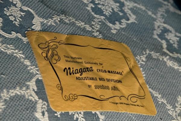 mattress label monterey california