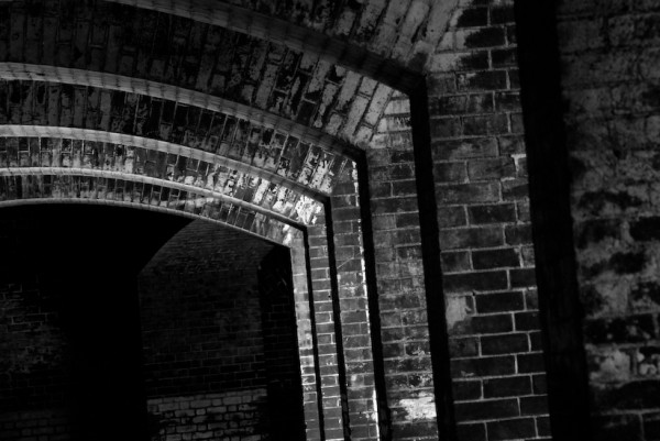 brick arches fort point san franicsco california