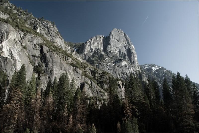 cathedral rock yosemite national park