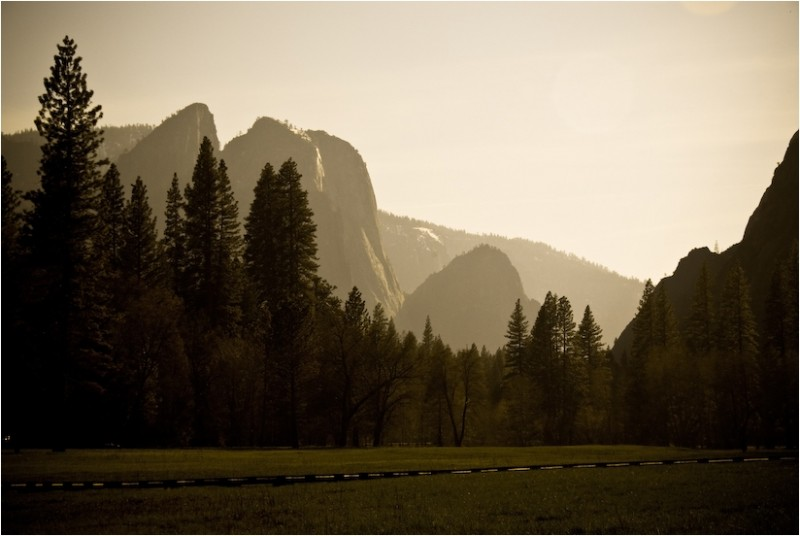 three brothers yosemite valley california