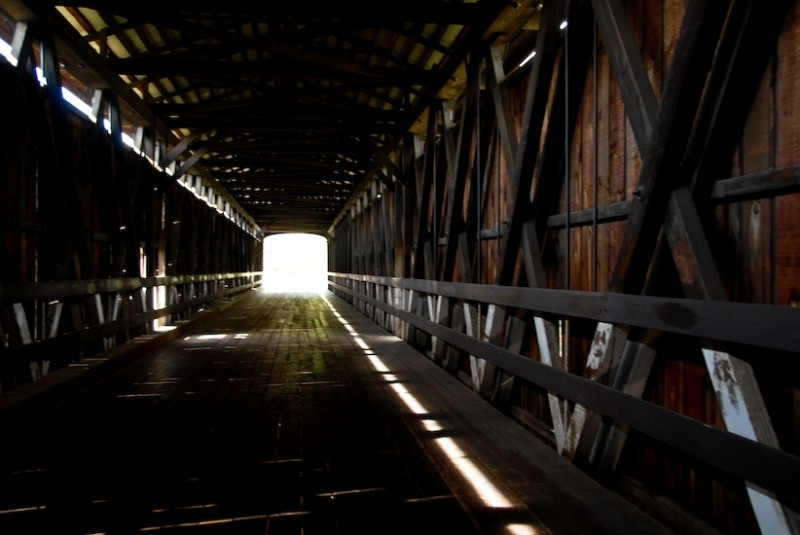 covered bridge knights ferry california