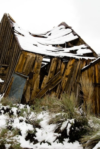 sagging roof bodie california