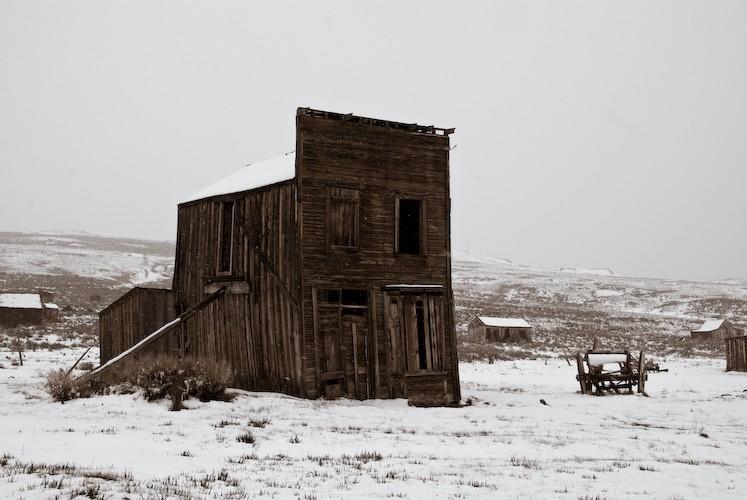 snowy bodie california I