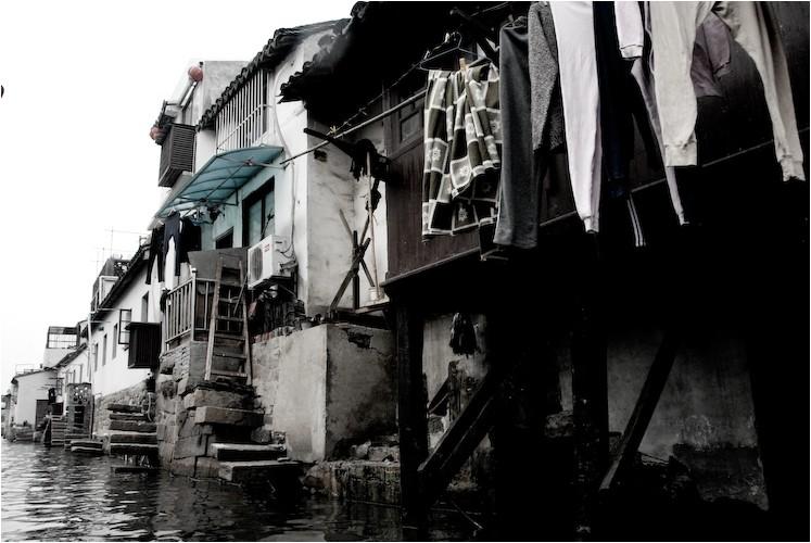 canal houses suzhou china