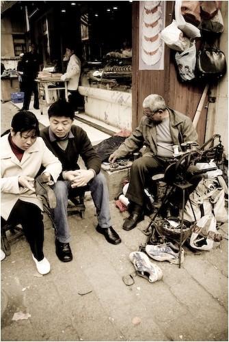 street cobbler suzhou china I