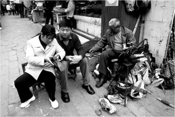 street cobbler suzhou china