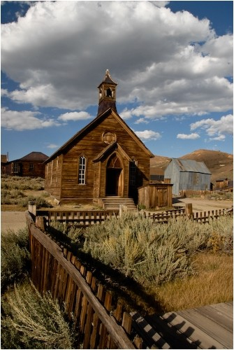 methodist church bodie california
