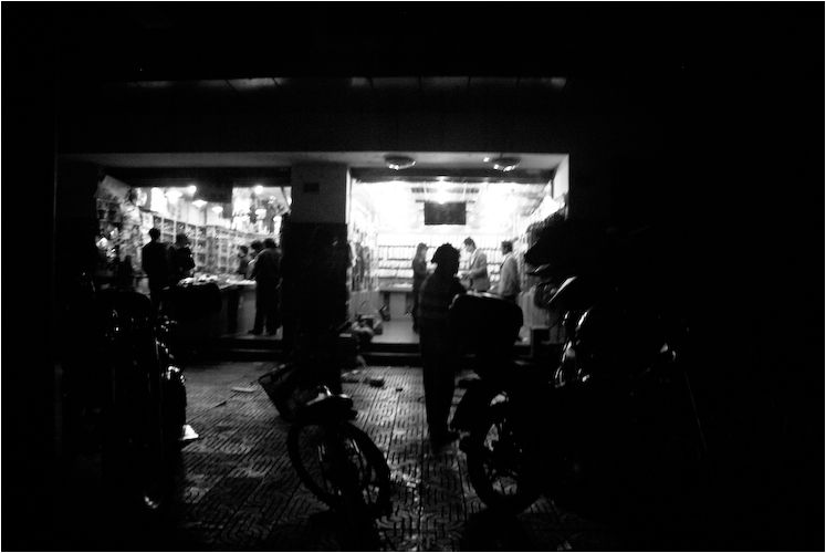 night shanghai china