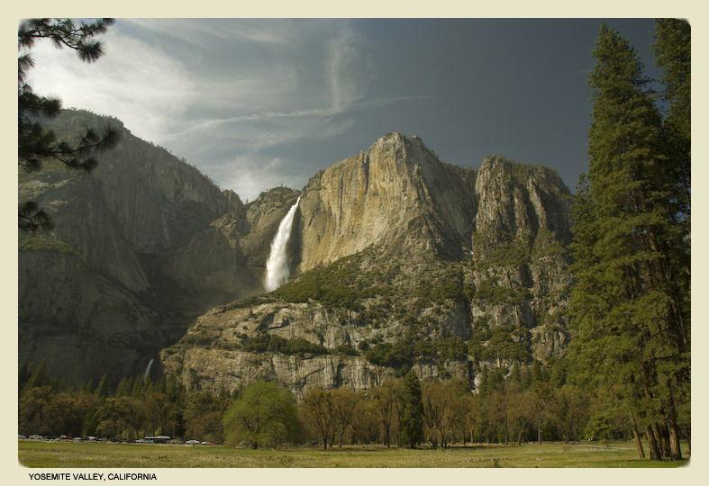 yosemite falls yosemite national park IV