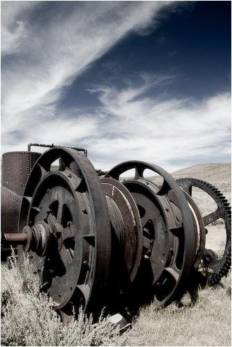 mining equiptment bodie california