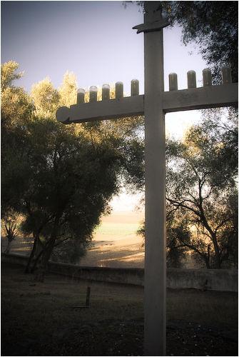 cross san juan bautista mission california