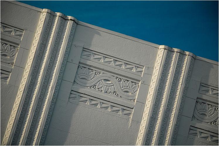 art deco roofline the marina san francisco