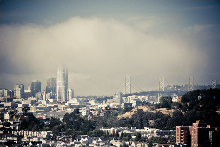 skyline san francisco california II