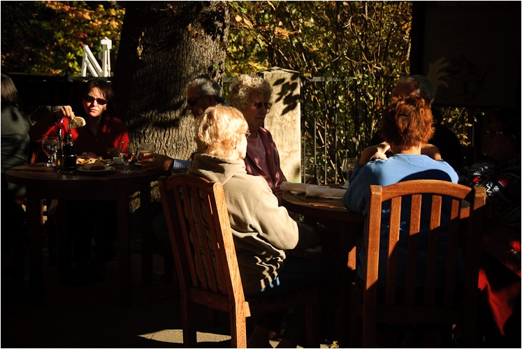 lunch at the ahwahnee yosemite california V