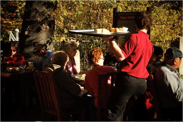 lunch at the ahwahnee yosemite california XI