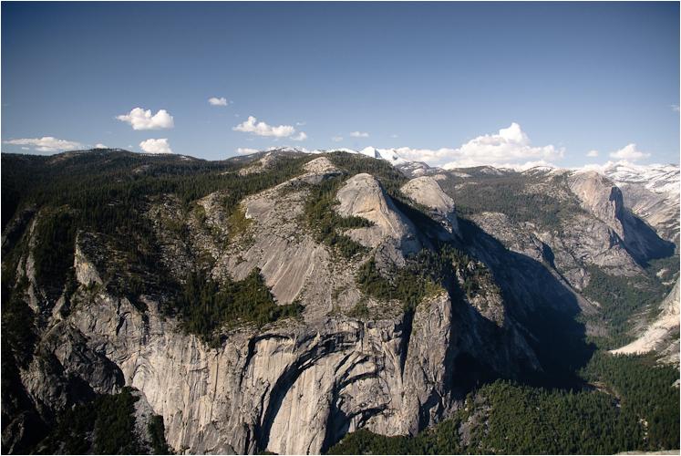 glacier point yosemite california