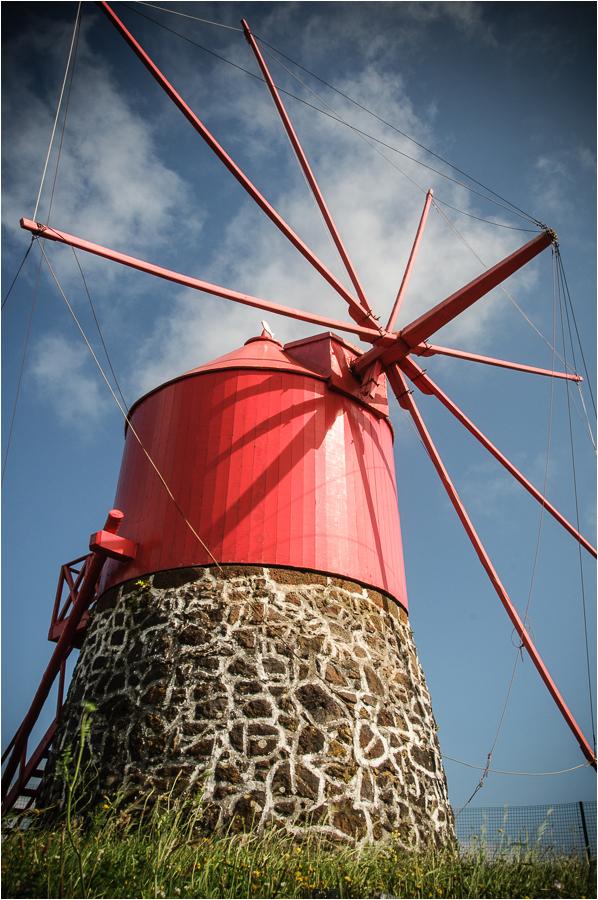 windmill faial azores