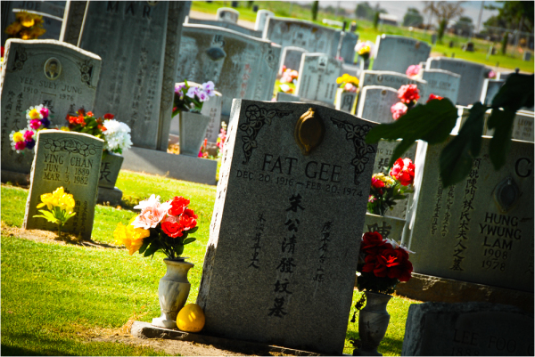 fat gee chinese cemetery  french camp ca